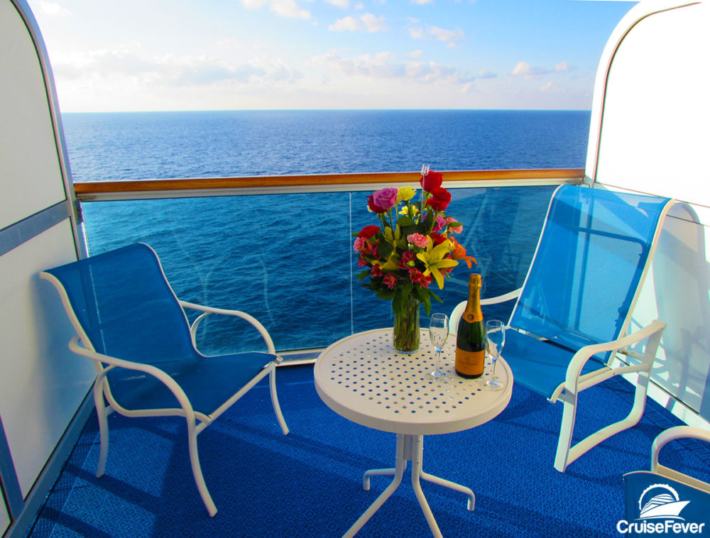 balcony on cruise ship