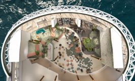 Celebrity Reveals Incredible 3 Story Lounge on Celebrity Edge