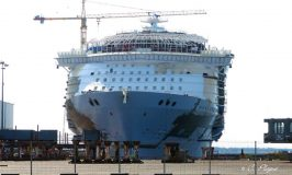 Latest Construction Photos of the World's Largest Cruise Ship