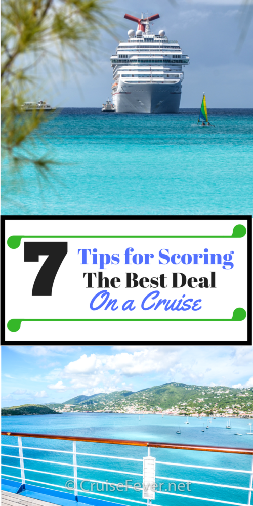 how to get the best deals on cruises