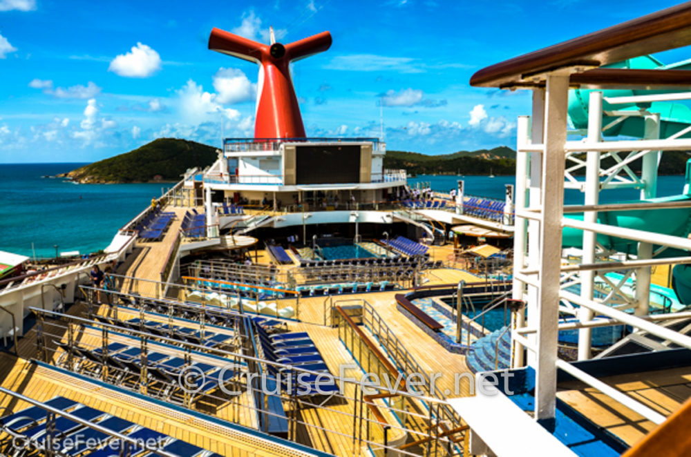 Top Seven Carnival Cruise Line Ships For First Time Cruisers