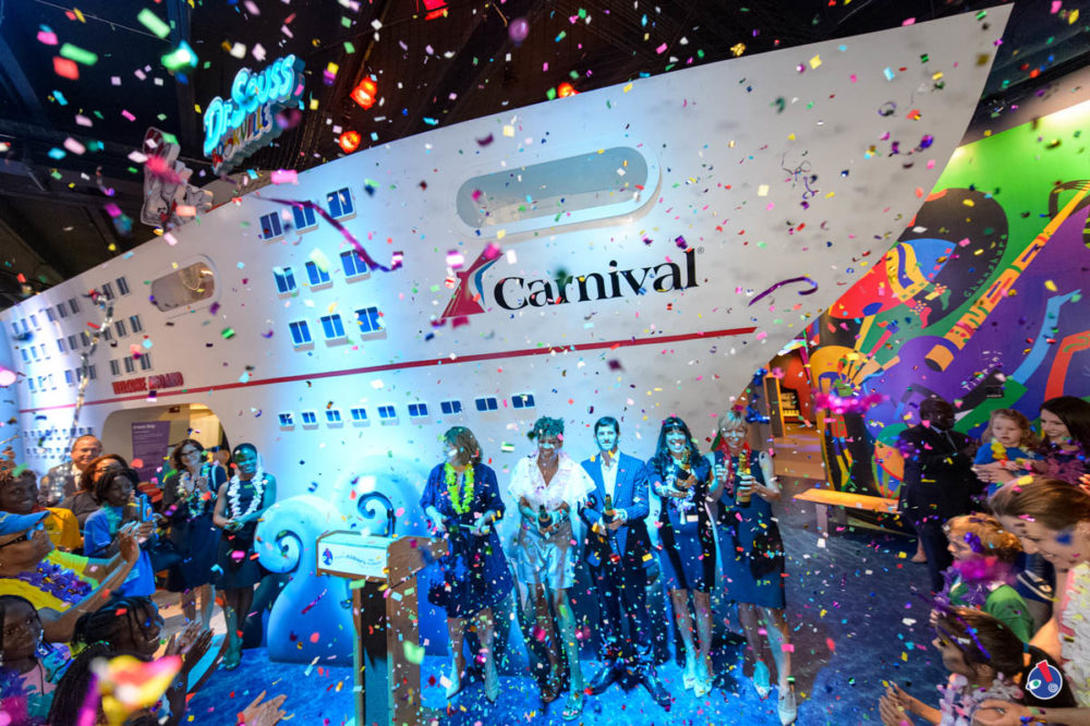 Carnival Cruise Line Unveils Cruise Ship Themed Exhibit
