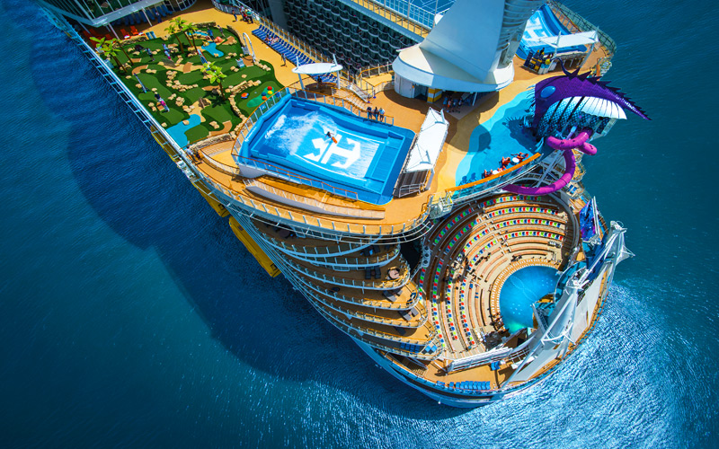 Best New Cruise Ships Arriving In - Biggest cruise ships list