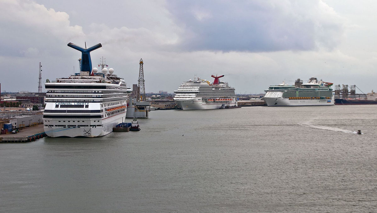 Port Of Galveston Reopens Cruise Ships To Return On Friday - Galveston cruise