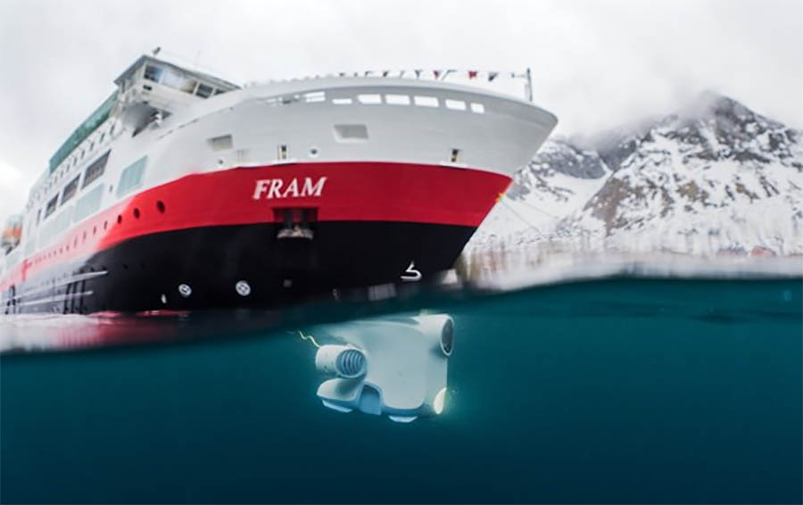 Cruise Ships Adding Underwater Drones To View Sea Life - Cruise ship supplies