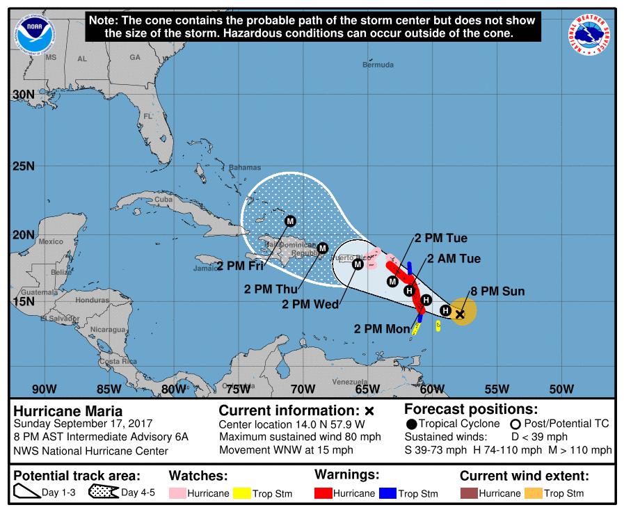 Cayman Islands Hurricane Maria