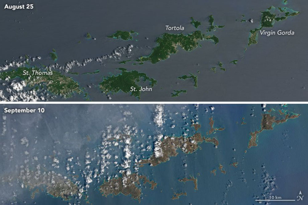 Hurricane irma turned the virgin islands from green to brown fandeluxe Epub