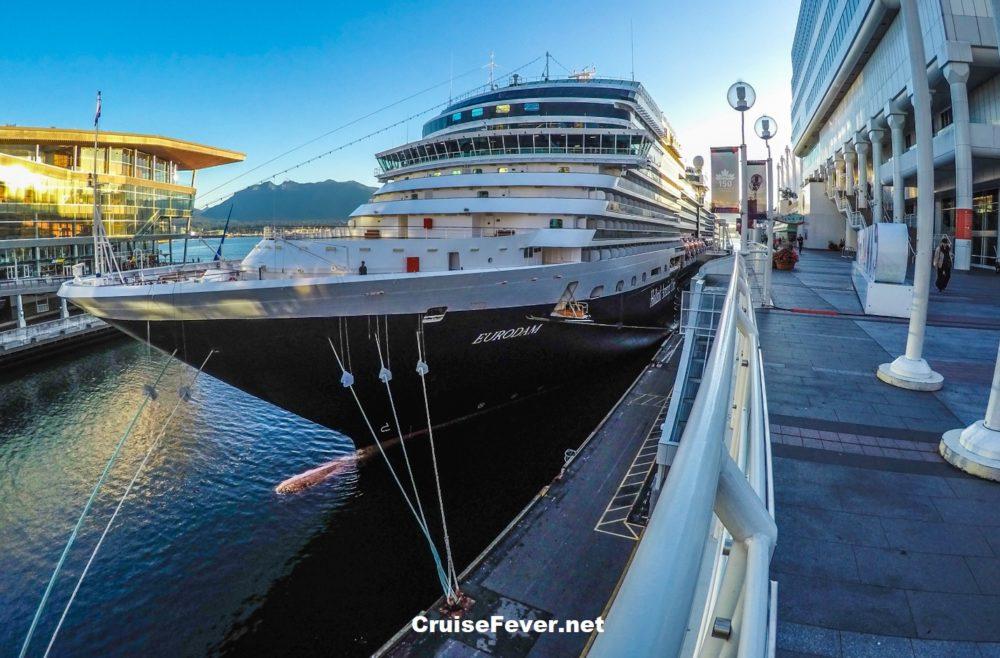 Holland America Line Eurodam review