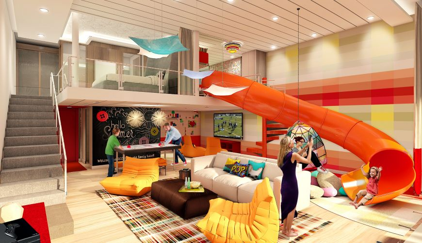 Incredible New Experiences Announced For The Worlds Largest Cruise Ship - Cruise ship pool table