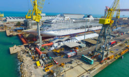 Viking Floats Out Newest Ocean Cruise Ship, Viking Orion
