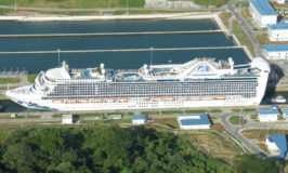 Princess Cruise Ship Becomes First Mega Ship to Pass Through New Expanded Locks on Panama Canal