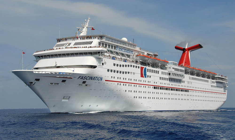 Carnival Cruise Line Moving Ship from San Juan to Mobile, Alabama