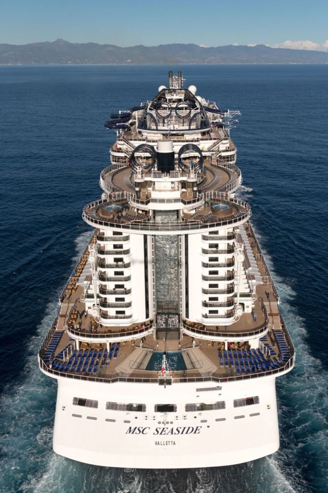 MSC Seaside S Hottest New Cruise Ship Makes Miami Debut - Cruise ship trouble