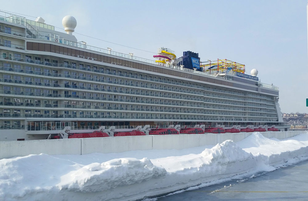 Winter Storm Grayson Delays Cruise Ship From Arriving Back