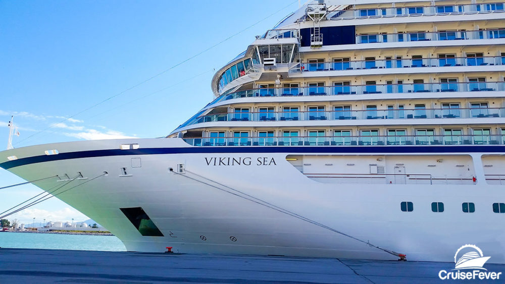 Viking Cruise Ship Aces Health Inspection
