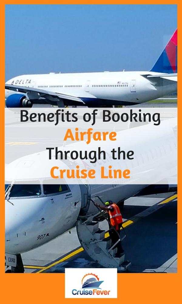 book flight through cruise line