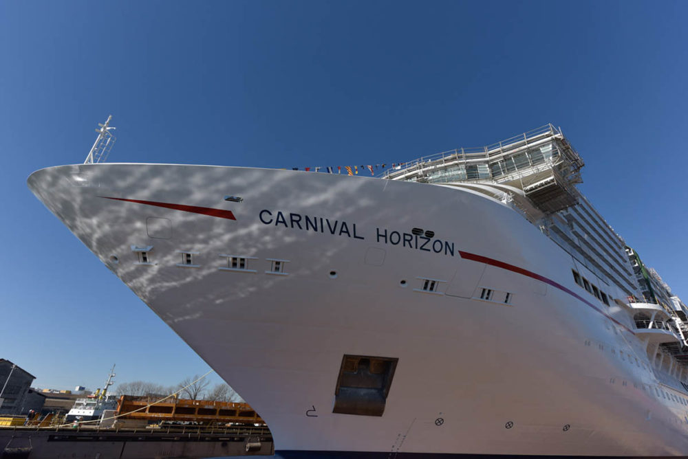 26th Cruise Ship Added To Carnival Cruise Line S Fleet