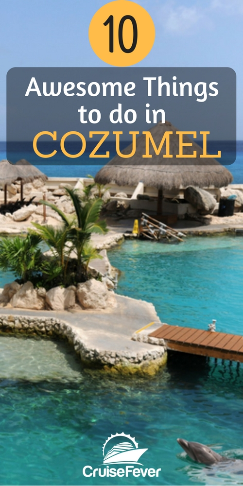 Cozumel is a popular cruise destination for a reason, but most people never realize all this port has to offer.  Check out 10 amazing ways to spend your day in Cozumel for your next cruise. Let us know what you love to do in Cozumel... #cruise #cozumel #cruisefever #destination #beaches #port #tropical #mexico