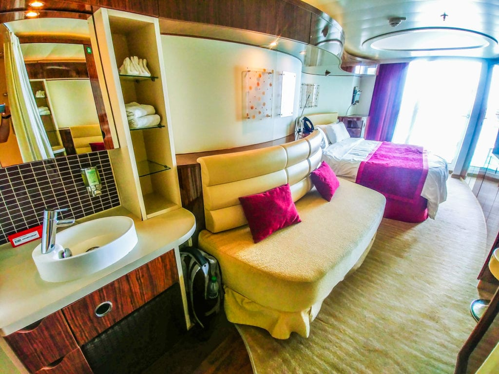 unsold cruise cabins