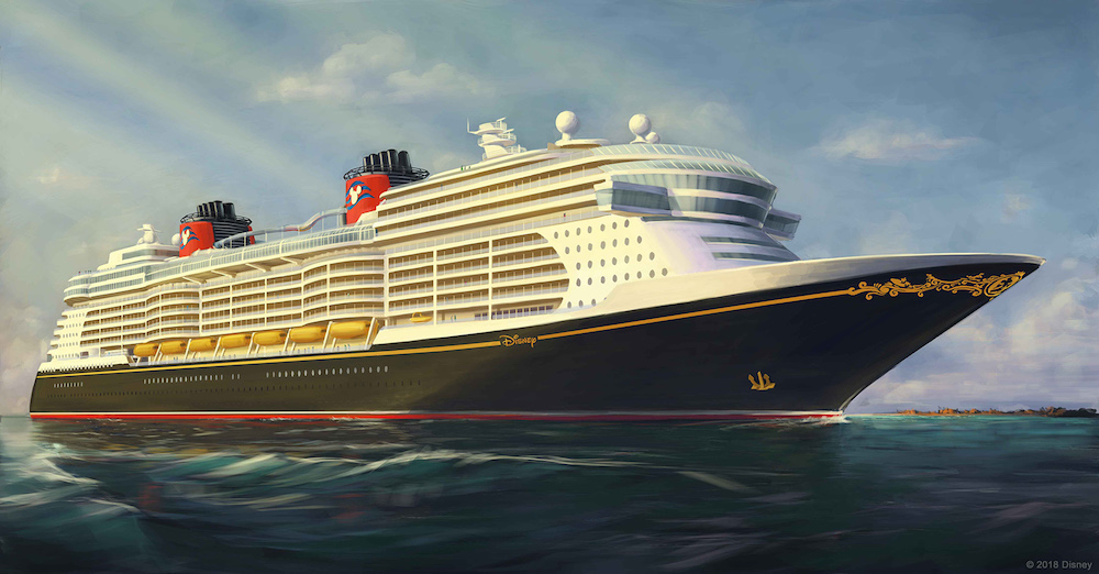First Look At Disney Cruise Lines New Cruise Ships - Is disney building a new cruise ship