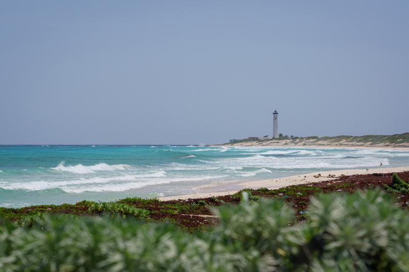 celarian lighthouse cozumel mexico
