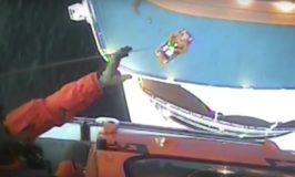 Coast Guard Airlifts Cruise Passenger from Royal Caribbean Cruise Ship [VIDEO]