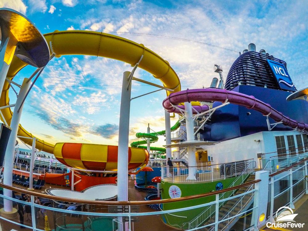 cruise ship water slides