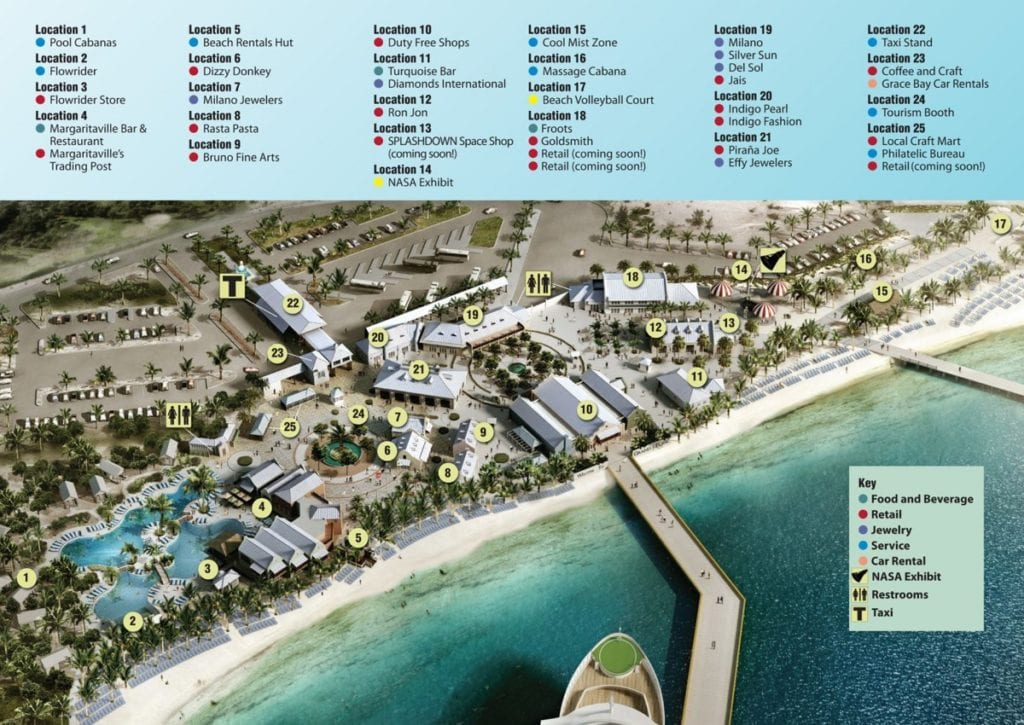 grand turk cruise port map