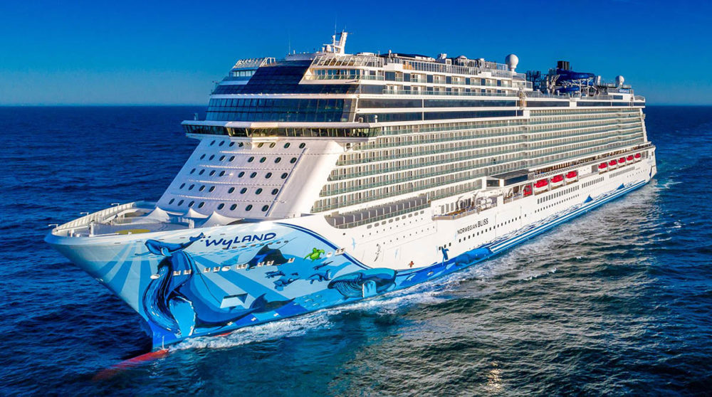 Norwegian S New Cruise Ship Largest To Ever Pass Through