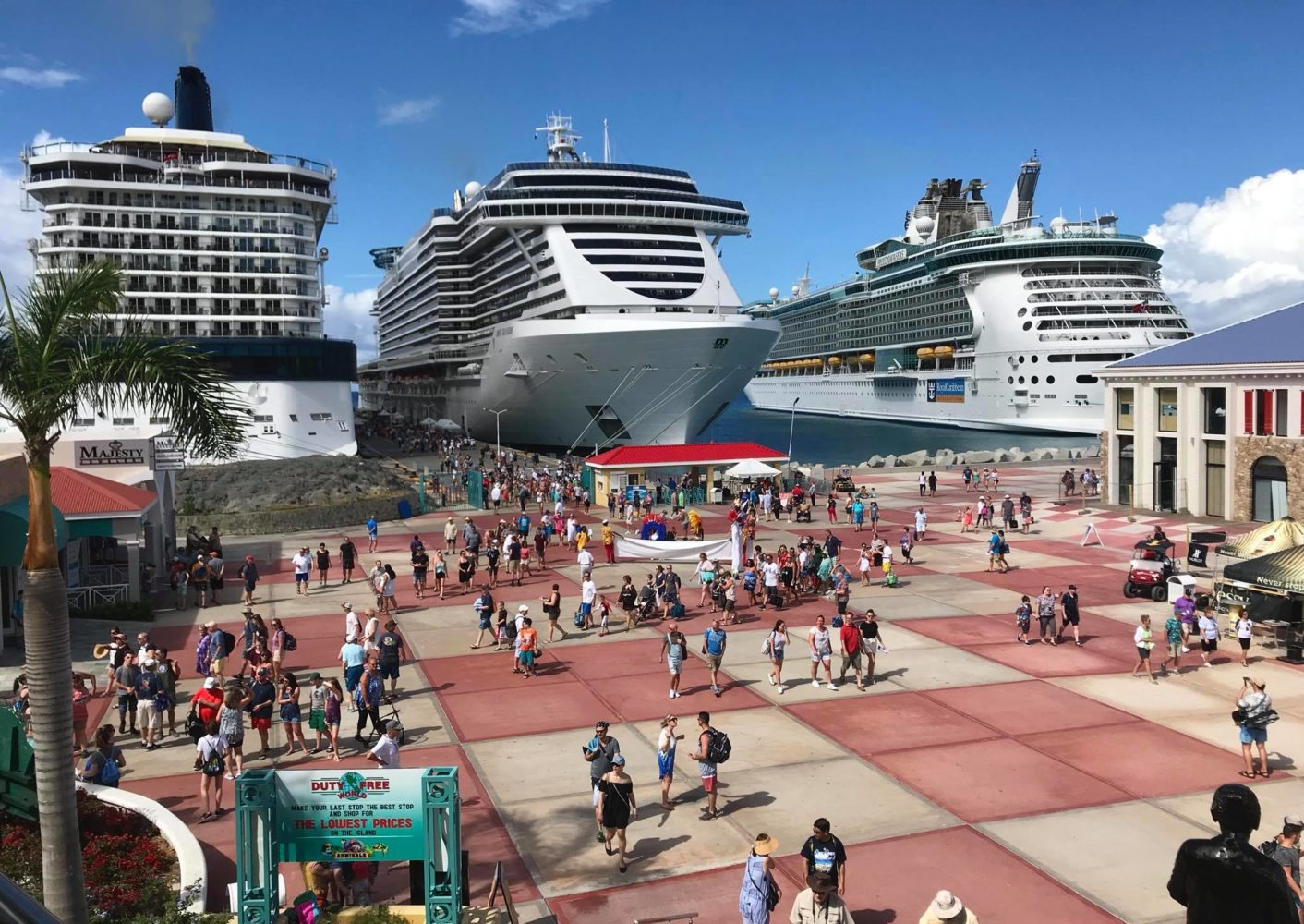 Msc Seaside Makes Inaugural Visit To St Maarten Popular Cruising The Leader In Video Cruise