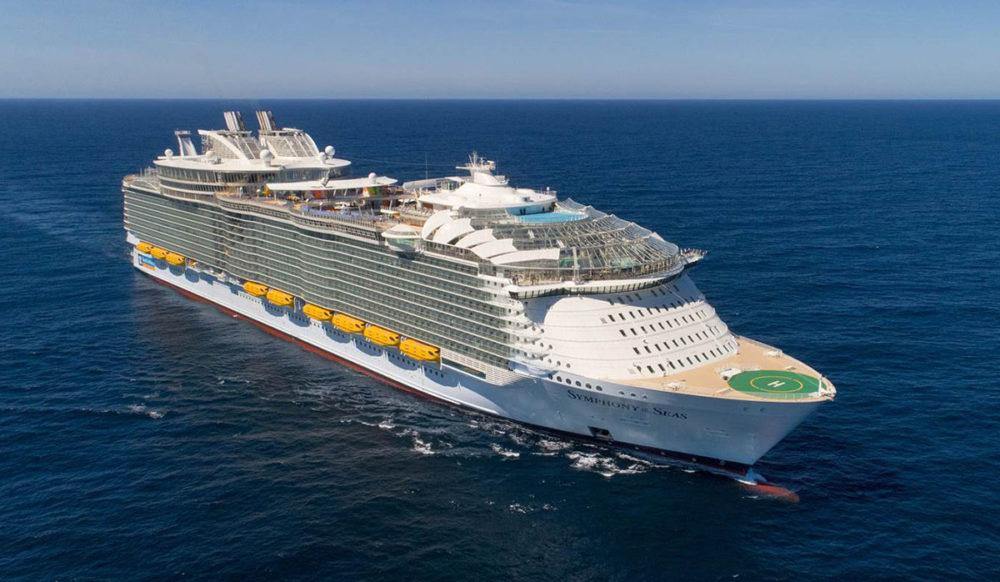 world's largest cruise ship, symphony of the seas