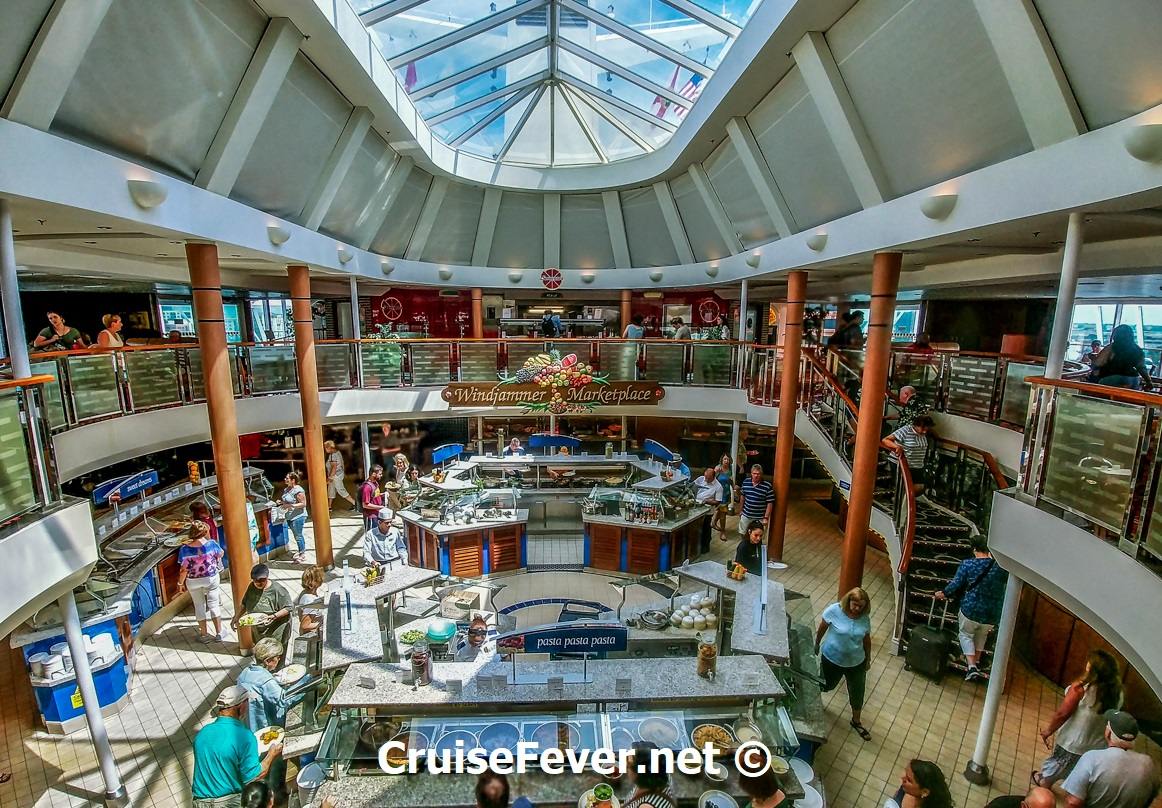 windjammer cafe on majesty of seas