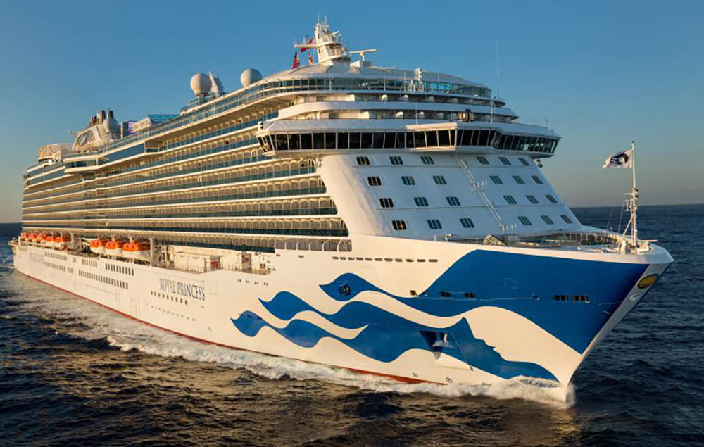 Princess Cruises Sending Giant Cruise Ship To California