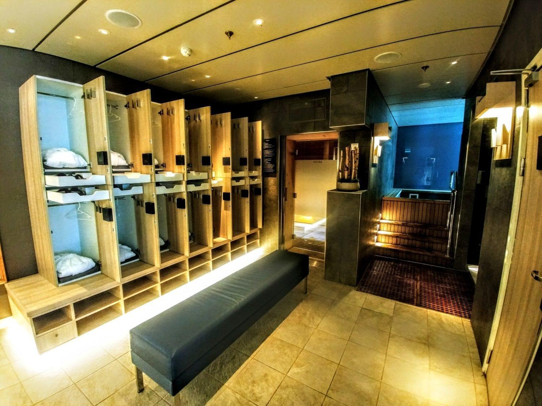viking sky thermal suite locker room