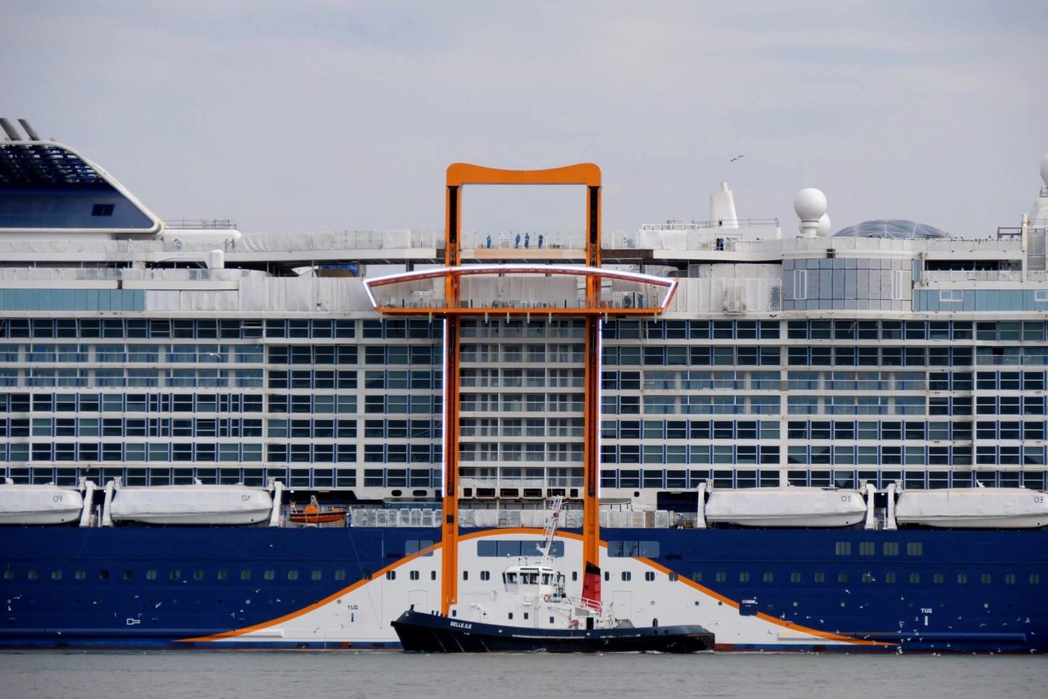 Celebrity Cruises New Cruise Ship Begins Sea Trials