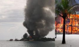 #1 Rated Caribbean Cruise Attraction Suffers Devastating Fire