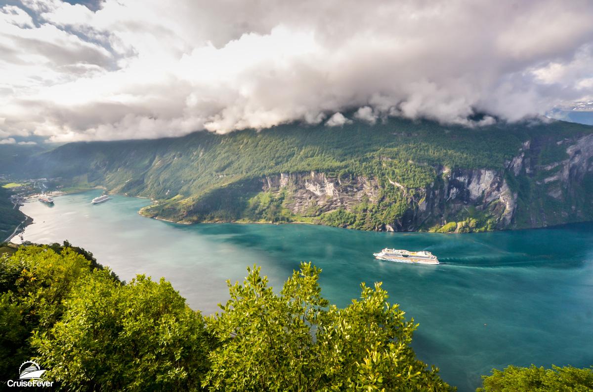 Geiranger, Norway cruise ships