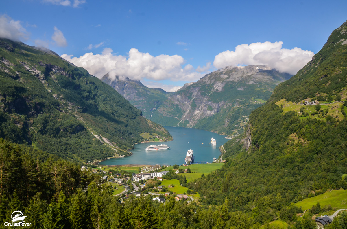 fjords of geiranger norway