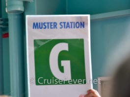 cruise tips safety drill