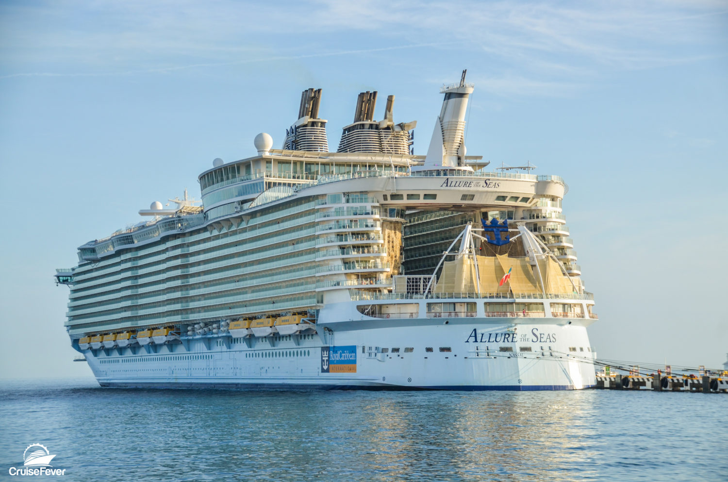 Worlds Largest Cruise Ship 2020.One Of The World S Largest Cruise Ships Will Sail To Europe