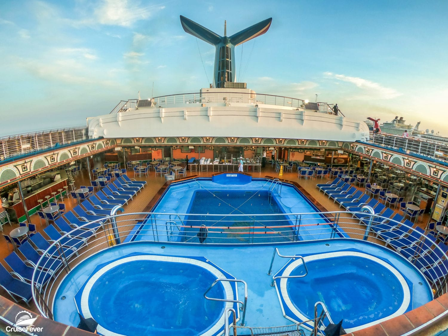 carnival victory aft pool retractable