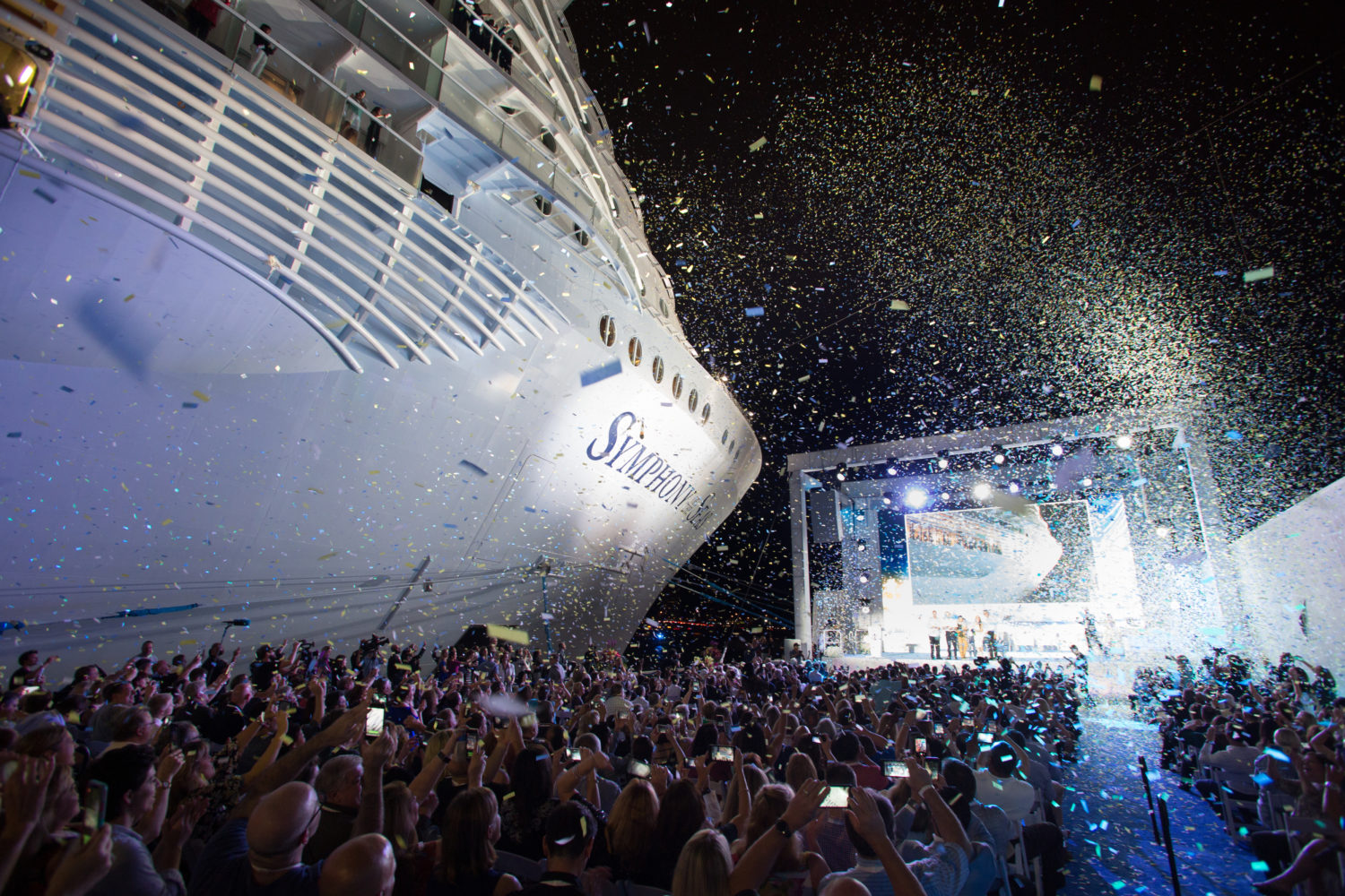 Royal Caribbean's Newest Cruise Ship Christened in Miami