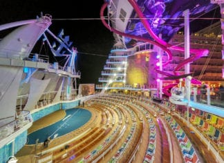 Symphony of the seas things to do