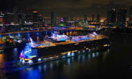 World's Largest Cruise Ship Arrives in Her Homeport of Miami