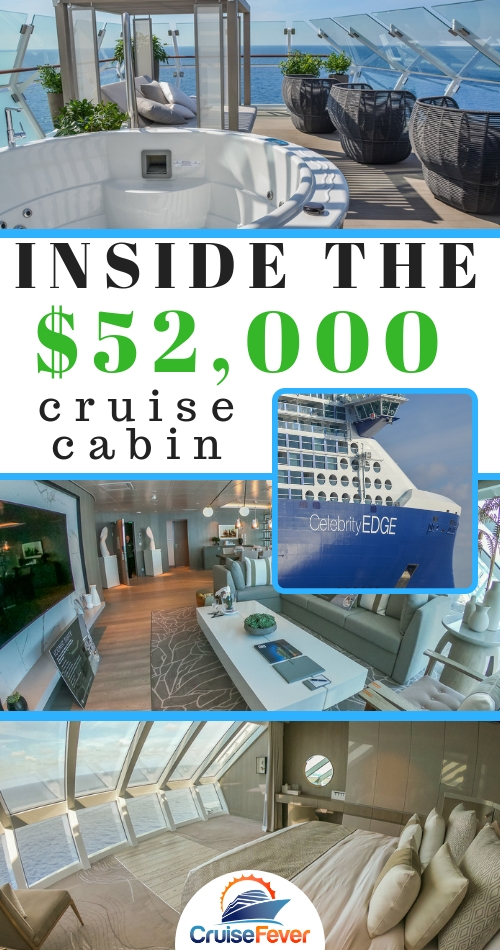 What is it like inside the Iconic Suite on Celebrity Edge?  Check out this photo tour of the $52,000 a week suite on one of the world's most innovative cruise ships. #celebrityedge #celebritycruises #cruiseship #iconicsuite