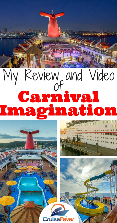 I just sailed on Carnival Imagination out of Long Beach, California on a cruise to Ensenada, Baja California, Mexico.  Check out what I thought about this Fantasy-class ship and see a video tour from bow to stern. #cruisefever #carnivalimagination #carnival #carnivalcruise #carnivalcruiseship #cruiseship