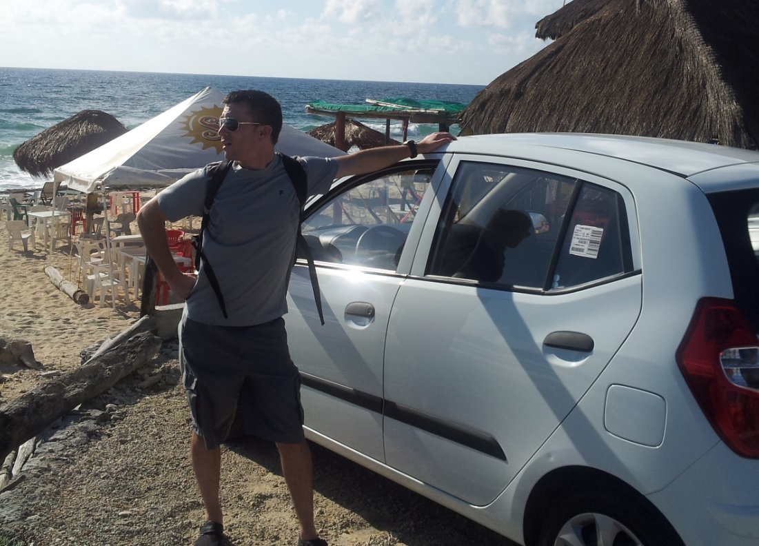 rent car in cozumel, Mexico