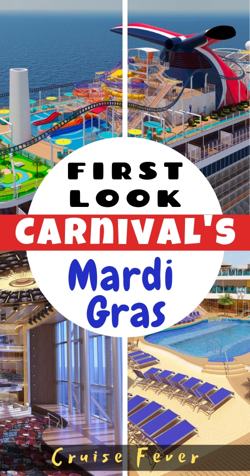 Carnival Cruise Line\'s First Mega Cruise Ship, Mardi Gras, Will Feature 6 Zones of Fun