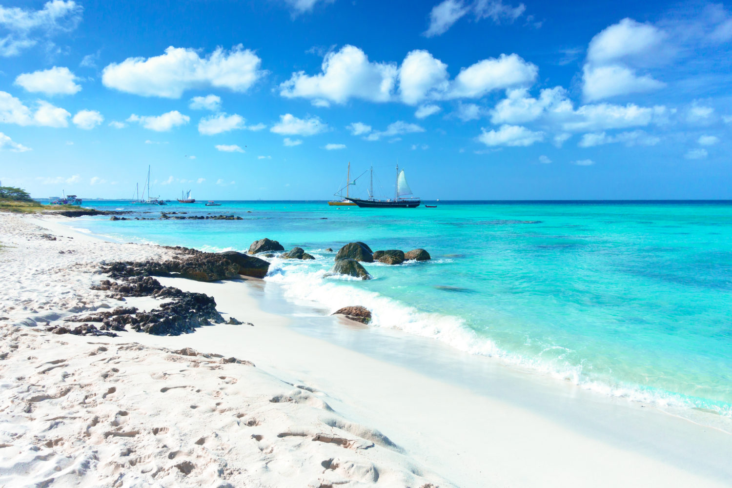 best snorkeling in the caribbean: aruba