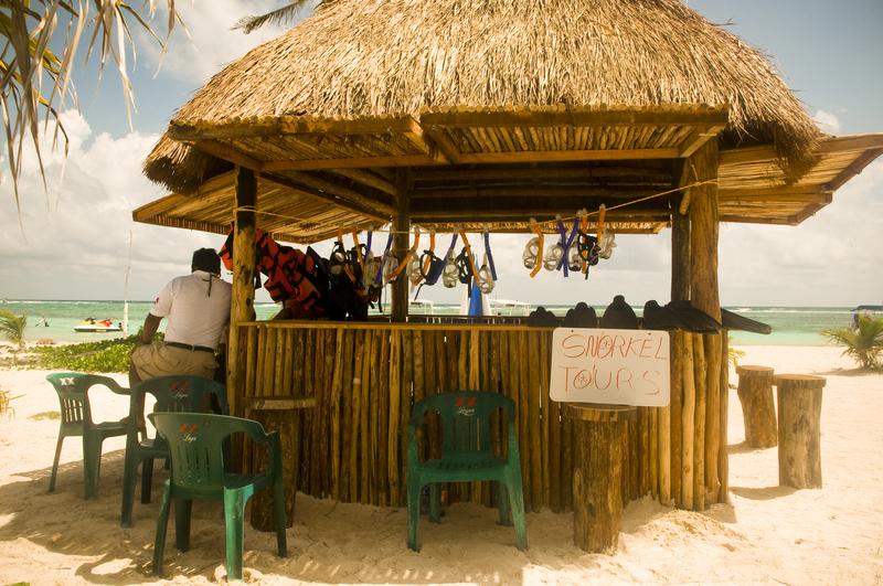 costa maya snorkeling in caribbean